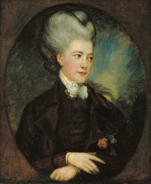 Georgianou Spencer - Cavendisch Foto: Thomas Gainsborough/Wikimedia Commons