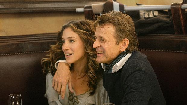 Sex ve městě: Petrovsky a Carrie v kavárně