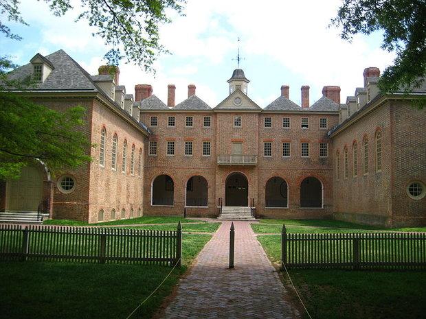 Williamsburg - vysoká škola Foto: wikimedia commons/ Jrcla2