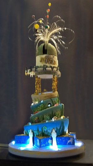 Vítězný dort v reality show Fantastické dorty Foto: