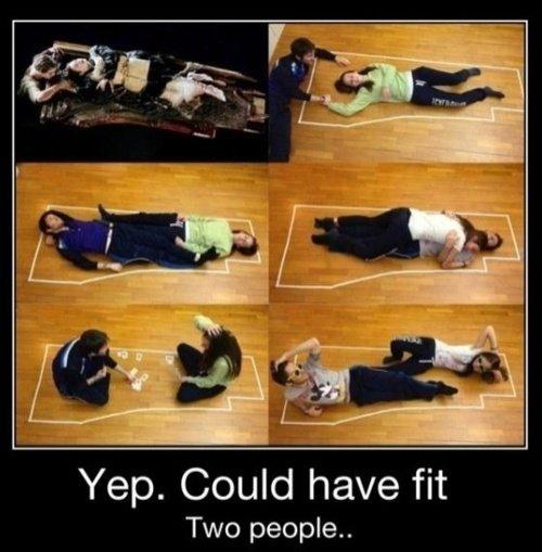 Titanic - dvě místa Foto: