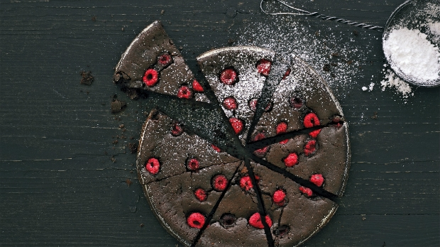 Malinové brownies Foto: Gurmet