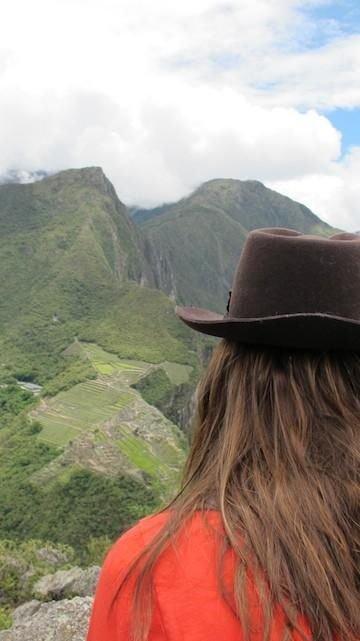 Stana Katic v Peru Foto: