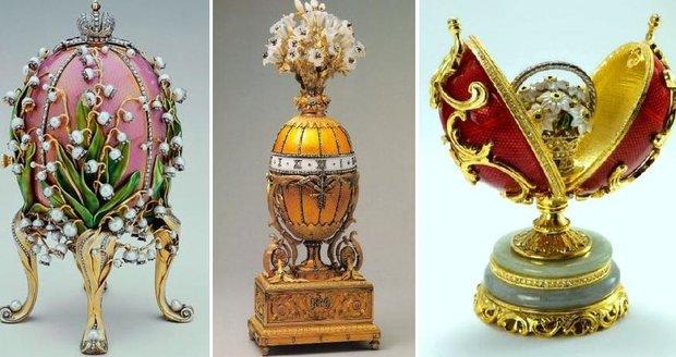 Fabergé vytvořil celkem 50 císařských vajec mezi roky 1885 až 1916. Foto: profimedia.cz