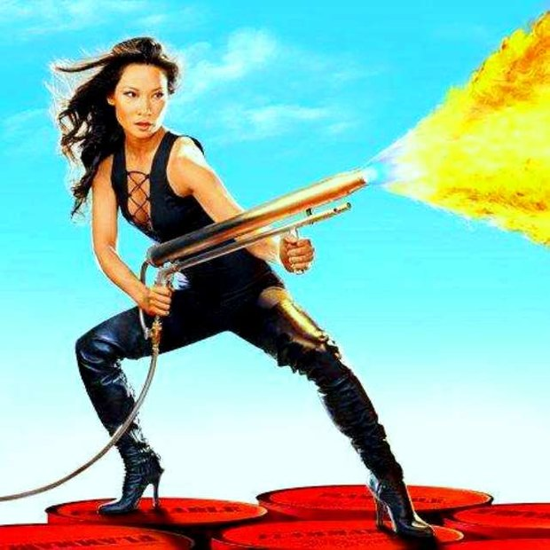 Lucy Liu ve filmu Charlieho andílci 2000 Foto: