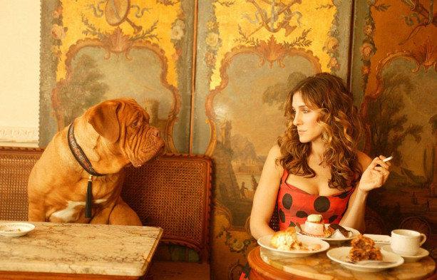 Sex ve městě: Carrie chvíli strávila i v Paříži Foto: archiv