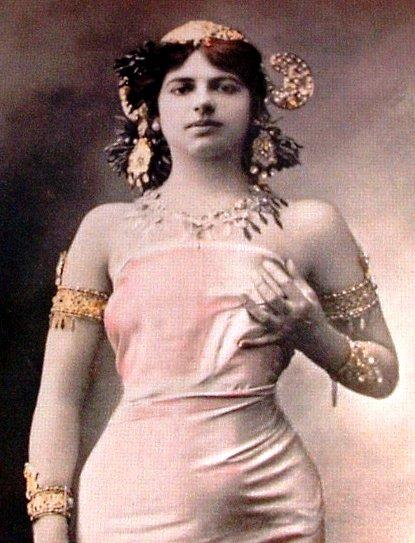 Mata Hari pocházela z Nizozemska Foto: Wikimedia Commons