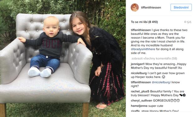 Tiffani Thiessen děti Foto: