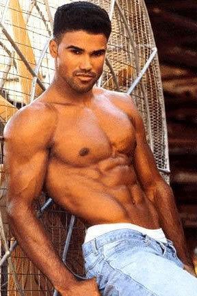 Shemar Moore jako mladý model Foto:
