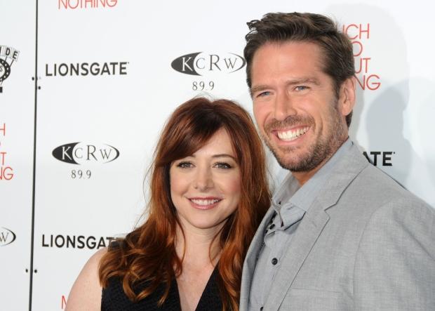 Alyson Hannigan a její manžel Foto: